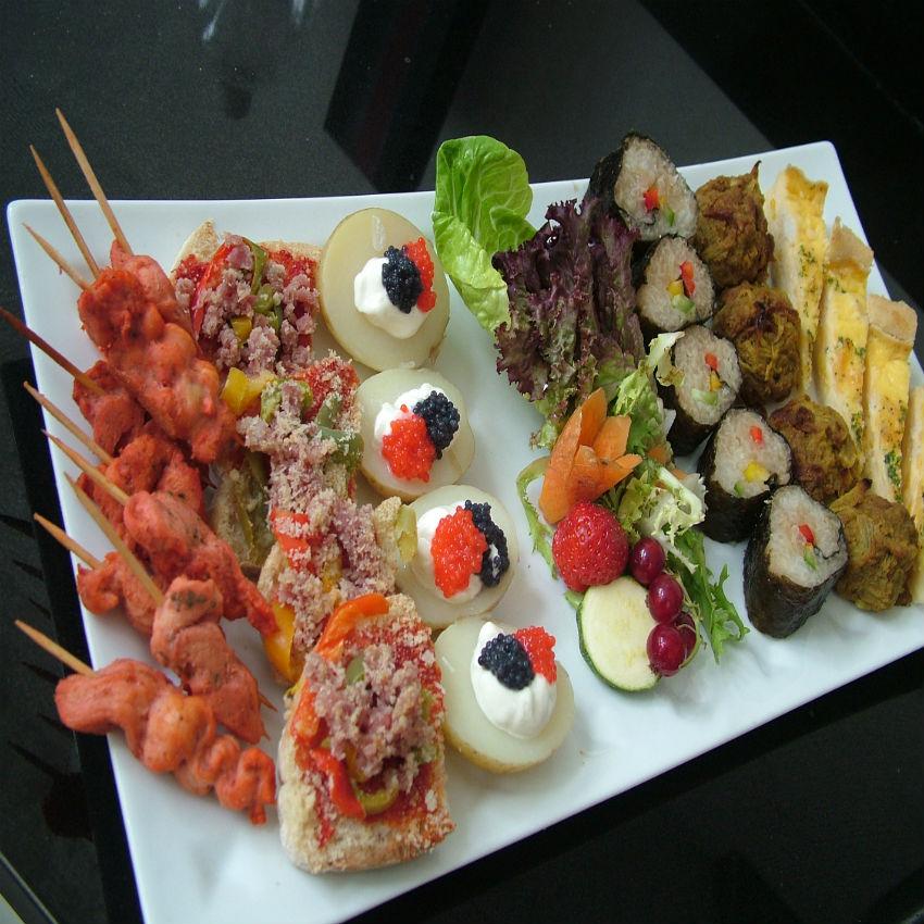 Non Vegetarian Canapés / Finger Food